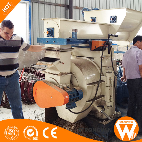 CE SGS approved 220v wood munch lucerne pellet mill with CE