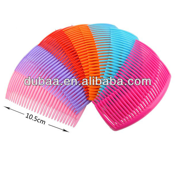 2014 Fashion Decorative Hair Combs Wholesale Headwear Plastic Hair Comb DB02498,Hair Jewelry Accessories,Costume Party Hair Comb