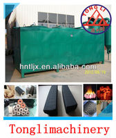 tongli log briquettes charcoal carbonization furnace sale well at home and abroad