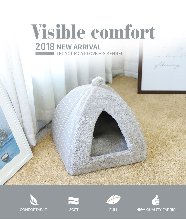 Tianyuan pet dog cave bed,dog indoor pet house