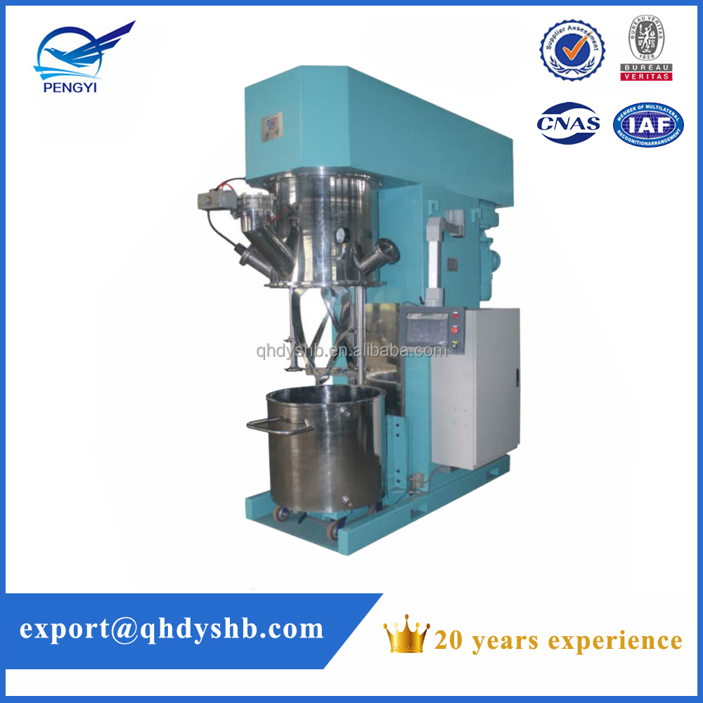 Hot selling high performance planetary mixer, lab mixing machine, high speed disperser