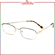 Laura Fairy CE China Wholesale Man Demi Elastic Leg Metal Optical Eyeglasses Frame