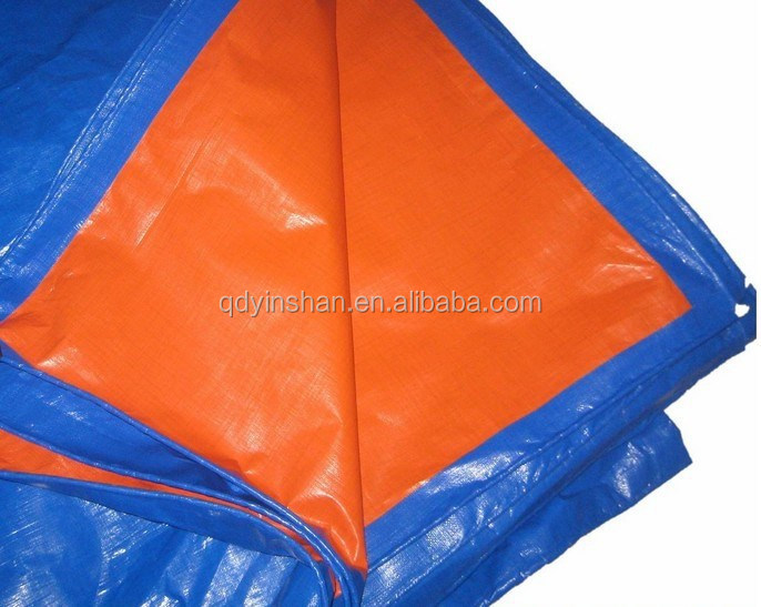 Woven and Coated Cloth KOREA PE Camouflage Tarpaulin