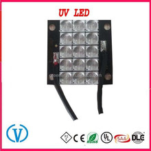 uv curing and uv printing and Medical lighting 395nm 100W UV LED array