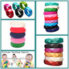 China Manufacturer Wholesale Round Silicone Bangle Food Grade Silicone Bangle/cancer silicone bracelets