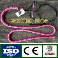 nylon/pp braided rope halter horse halter lead line