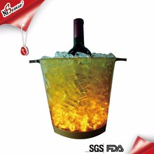 Special Design Widely Used Led Ice Bucket With Stand