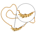 Wholesale Lobster Clasp18k Gold Wheat Original Necklace Jewelry For Women