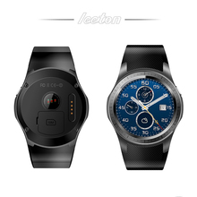 New design touch screen wifi smart watch phone with GPS and heart rate