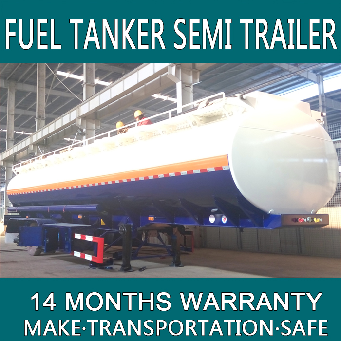 gas tanker trucks sale For Oil Petro Diesel Gasoline Transportation Made From Carbon Steel With 42000 Liters 3 Axles T33