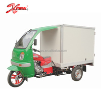 Chinese Cheap 200cc Cargo Tricycle Three Wheels Motorcycle With Seal Cargo Box For Sale X-Tiger200