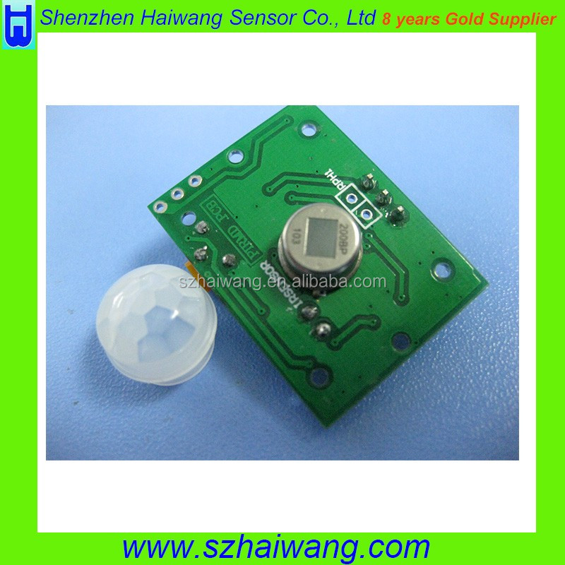 HW8002 PIR Motion Sensor Module PIR infrared human body sensor switch lamps intelligent HW-8002 PIR infrared sensor module