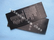 USA how to clean laundry name labels wash label clothes washing guide label made in china