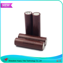 High Capacity 3000mah 20A High Power 3.7v LG HG2 Torch Light Rechargeable Battery