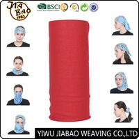 Promotional Companies Red Printed Custom Logo Neck Warmer