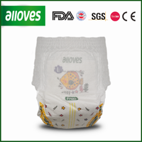 factory discount Alloves baby diaper wholesale with cheap price
