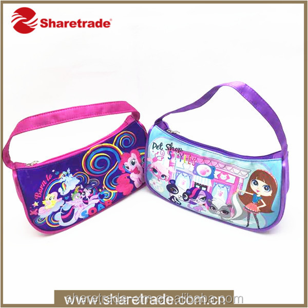 2016 High Quality Cute Cartoon Pattern Make Up Bag