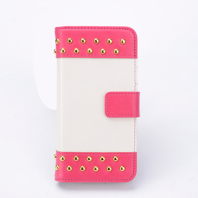 Book style flip detachable mobile cellphone case for iphone 5s