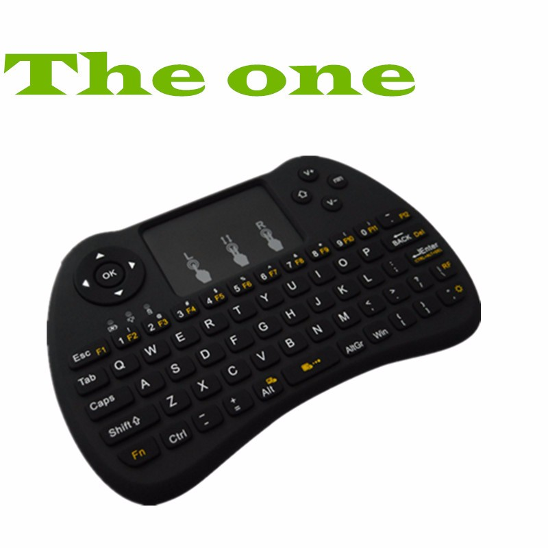 1chip 2.4ghz Frequency H9 flying mouse with keyboard