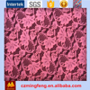 2017 Pink Textile Red Lace Fabric