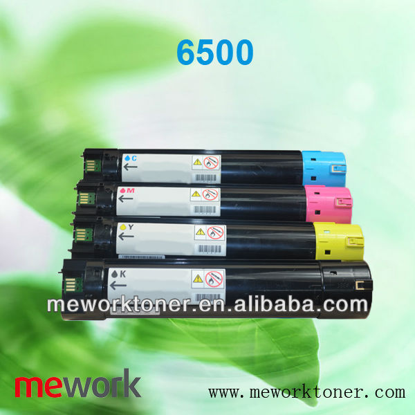 Compatible Xerox Color Toner Cartridge 6500 CMYK