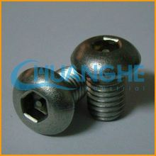 China manufacturer fasteners low price m6 carbon steel plum blossom screw