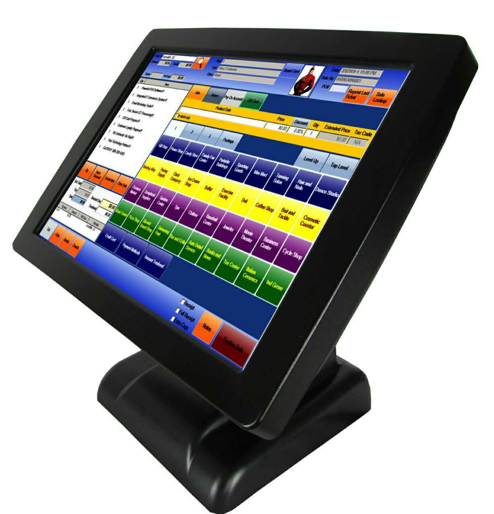 "15"" Touch Screen POS System All in One PC POS Solution"