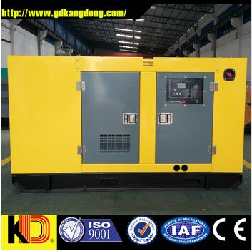 Three phase 50hz 380v silent 30kw Diesel Generators for sale