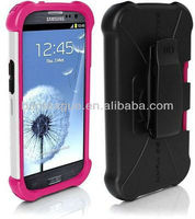 Ballistic SG Maxx Rugged Case Cover + Holster Belt Clip For Samsung Galaxy S III S3 Rugged Case Cover + Holster Belt Clip