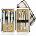10pcs manicure set pedicure set