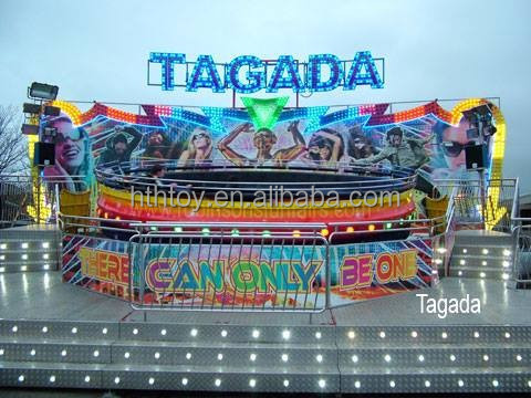 new theme park rides for sale tagada