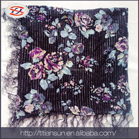newest scarf factory china provide goods fashionable long scarf