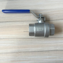 "2"" Stainless Steel 2pc F/F BSP Ball Valve 316 in 1000PSI rate"