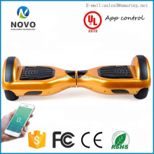 2016 Newest Gold Classical 6.5 Inch Two Wheels Balance Scooter Car ,bluetooth, scooter lithium samsung