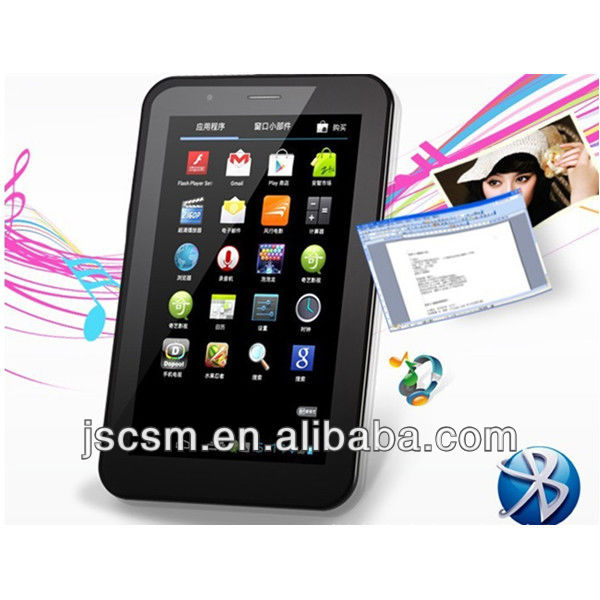 7'' MTK8377 Dual core tablet pc with gsm,GPS,Bluetooth,FM,TV,HDMI
