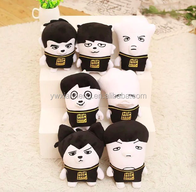 South Korea BTS bulletproof youth group plush toys ugly doll spot wholesale can be customized South Korea plush toys
