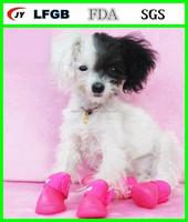 Waterproof rubber pet boot pet shoes for dogs