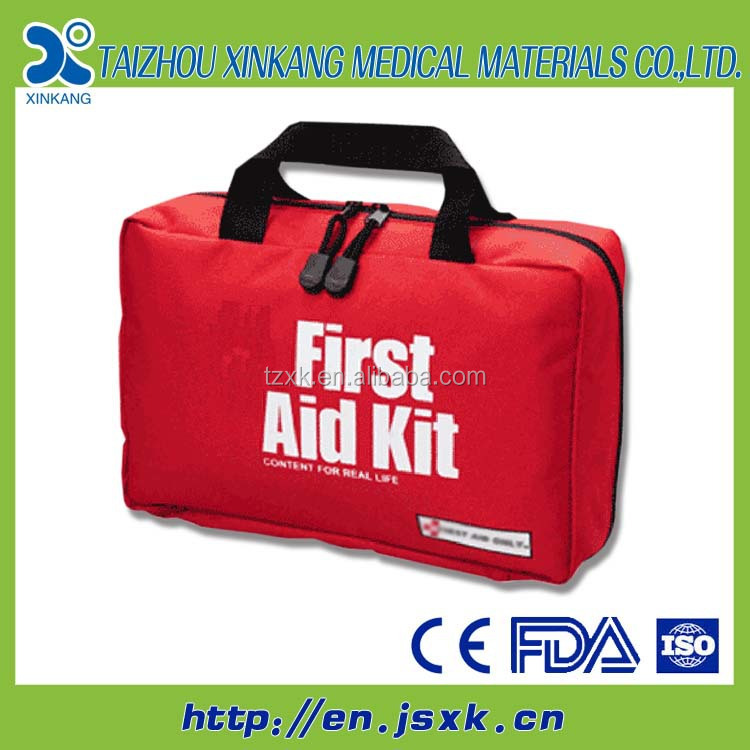 24PC Motorists First Aid Kit Car Safety Car Van Travel Kit Pack Set
