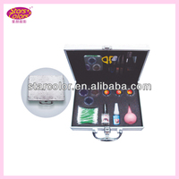 profesional eyelash/glue/tweezer/brush/Scissors Eyelash extension set kit make up kit E-002
