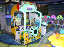 3d video car kids Racing Arcade Driving Game Machine children car racing machine