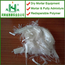 Mortar crack resistance sheet pp fiber with low price