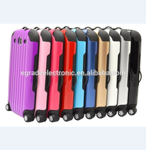Newest Hard Case for Samsung S3 I9300,Luggage Case PC+TPU Case Cover for Samsung S4 I9500
