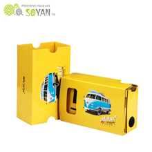 Low price customized google cardboard V2 3D vr cardboard adult 3d games