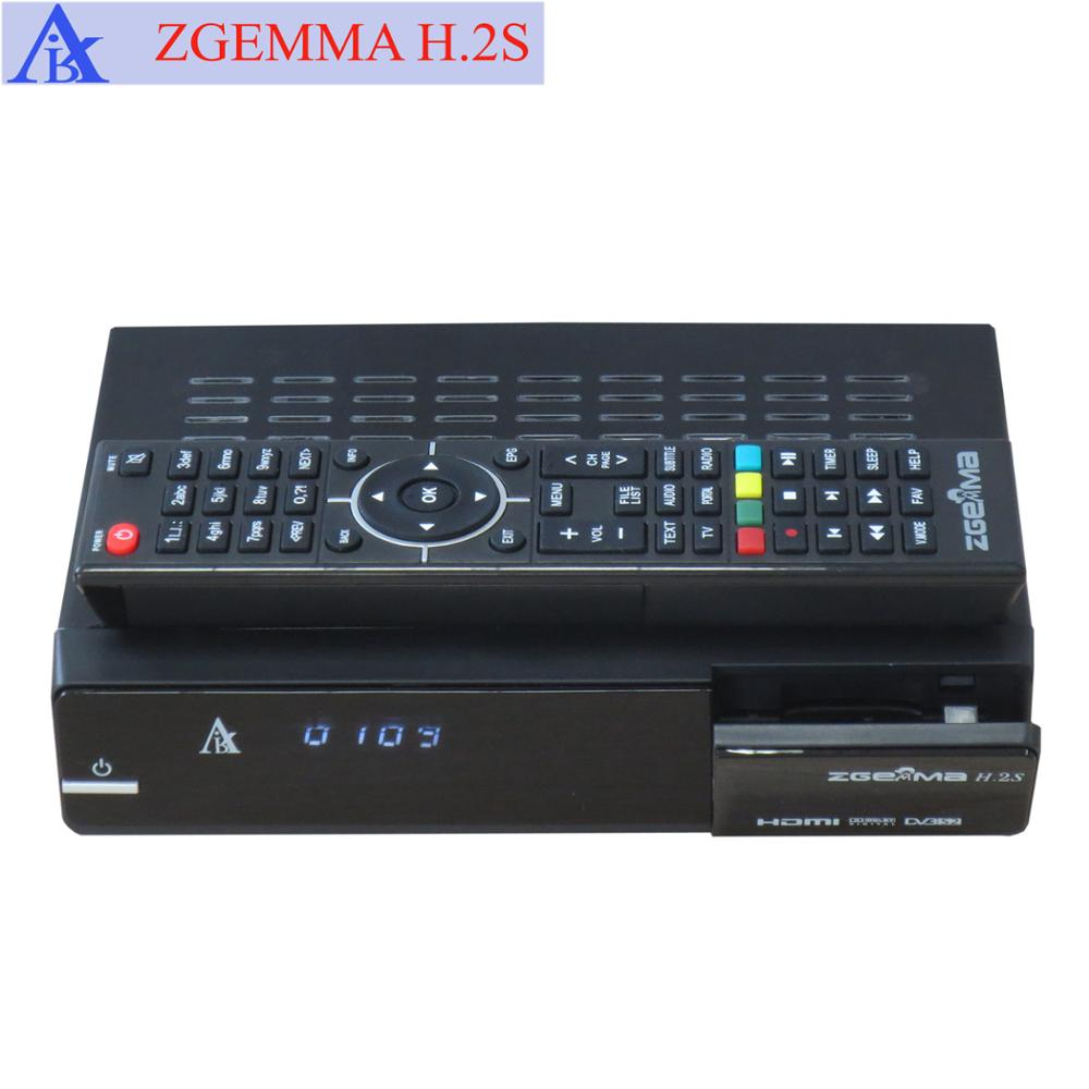 Dual core ZGEMMA H.2S DVB-S2+DVB-S2 Twin tuner full hd satellite receiver