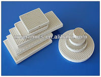 corundum-mullite honeycomb ceramic for heat exchange