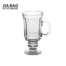 Libbey tall coffee mugs, glass coffee mug GB093407H