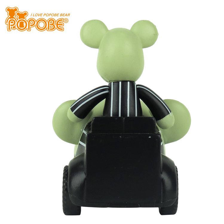 Mini Toy Bear Car Key Ring For Car Decor Baby Gift