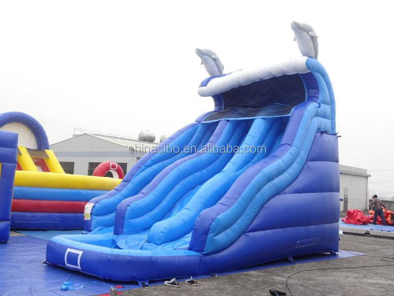 GMIF160329125 adult and kids jumping castles inflatable water slide for sale