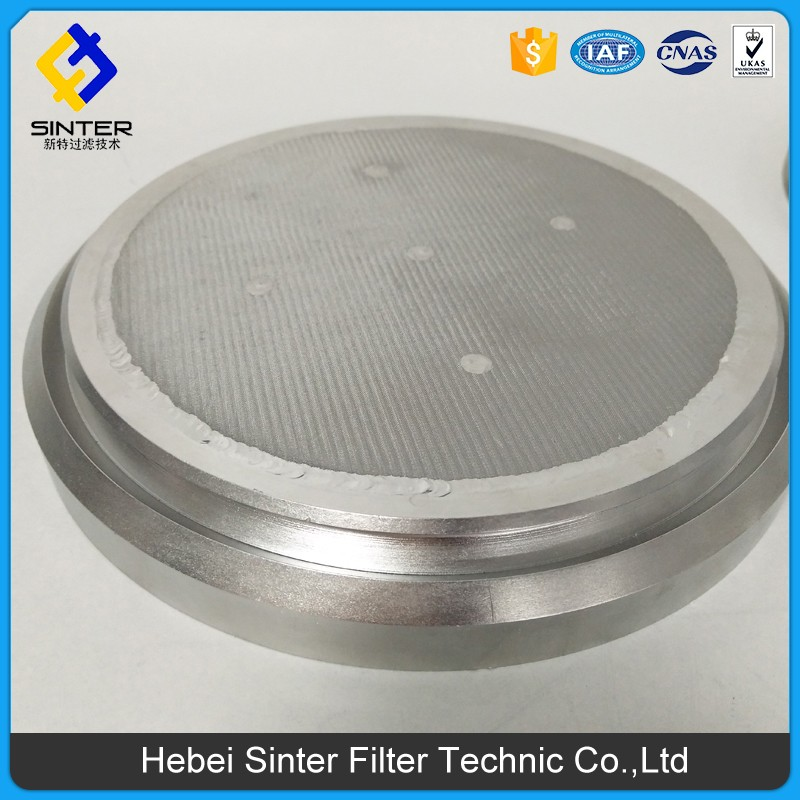 Stainless steel multi layer sintered mesh with Fluidized plate / nickel current collector with filters / spin pack filters