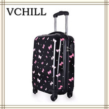 Hardcase Waterproof Printed Travel Suitcase/ABS PC Travel Luggage